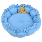 Jiahui A033 Drawstring Style PP Cotton Pet Dog / Cat House / Kennel / Sleeping Pad - Blue