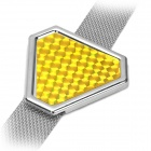 Auto Car Anti-static Earth Belt - Yellow + Silver