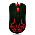 AULA DARK MAGIC SCORPION User-Defined Programming USB 2.0 Wired Game Mouse - Black (150cm-Cable)