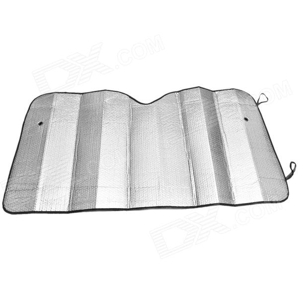 Car Front Windshield Windscreen Sunshades - Silver (135 x 70cm)