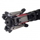 "DEBO Tripod Support Base for Monopod with 3/8"" screw - Black + Red + Silver"