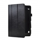 ACER AICONIA AI 3-Folding Bracket Case with Crazy Horse Pattern - Black