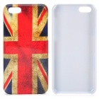 Retro UK National Flag Pattern Protective Plastic Back Case for Iphone 5C - Multicolored