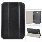 ZY-803 Stylish Protective PU Leather Case Cover Stand for the Samsung Galaxy Note 8.0 N5100 - Black