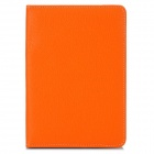 "Stylish PU Leather Cover Case w/ Stand for Ipad MINI / 6"" / 7"" / 8"" Tablet PC - Orange"