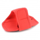 Sports Gym Neoprene + PVC Armband Case for Iphone 5S - Red + Black
