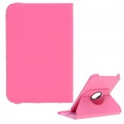 Protective PU Leather Case Cover Stand for Samsung Galaxy Note 8.0 N5100 / N5110 - Deep Pink