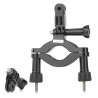 Fat Cat M-MB Motorcycle Bike Handle Bar Mount Kit for Gopro / SJ4000 - Black