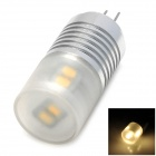 G4 2.5W 120lm 3500K 8-3528 SMD LED Warm White Light Lamp (12V)