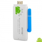 DITTER V20 Android 4.2 Mini PC Google TV Player w/ 2GB RAM / 8GB ROM / Antenna / Bluetooth - White