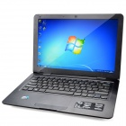 "G133 13.3"" Screen Laptop w/ Camera / RJ45 / Wi-Fi / HDMI / DDR3 2GB RAM / Atom D2500 - Black"