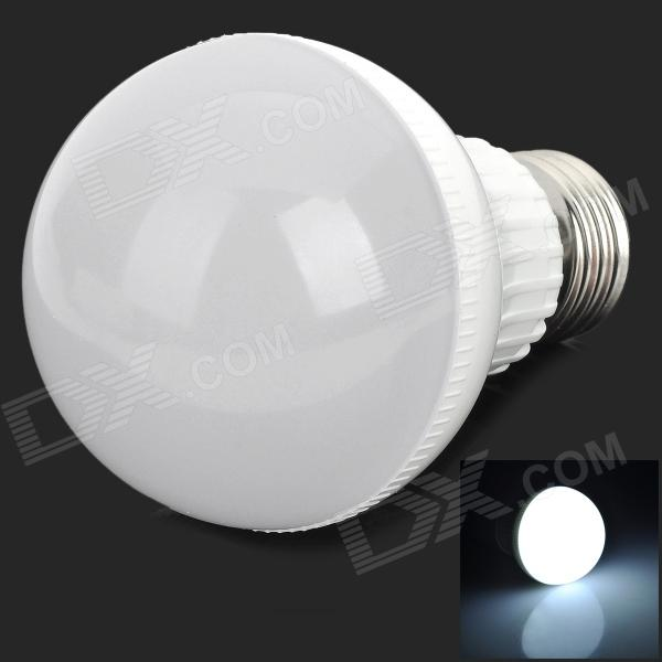 E27 5W 360lm 6400K 18-2835 SMD LED White Light Bulb Lamp (220~240V)