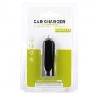 Car Cigarette Powered Charging Adapter Charger for Iphone / Ipad + More - Black