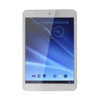 PORTWORLD PBD-02 7.85'' Dual Core Android 4.2 Tablet PC w/ 1GB RAM, 8GB ROM - Silver Grey + White