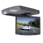 Kangsung TU-128HD 12.1-Inch Car Flip Down Monitor w/ 2 Channel AV Input - Grey