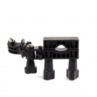 SMJ G-99 Universal Bike Handlebar Seatpost Mount for Gopro Hero/Hero 2/Hero 3/SJ4000 - Black