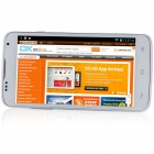 "A199 MTK6572 Dual-Core Android 4.2.2 WCDMA Bar Phone w/ 5.0"", 4GB ROM, FM and GPS - White"