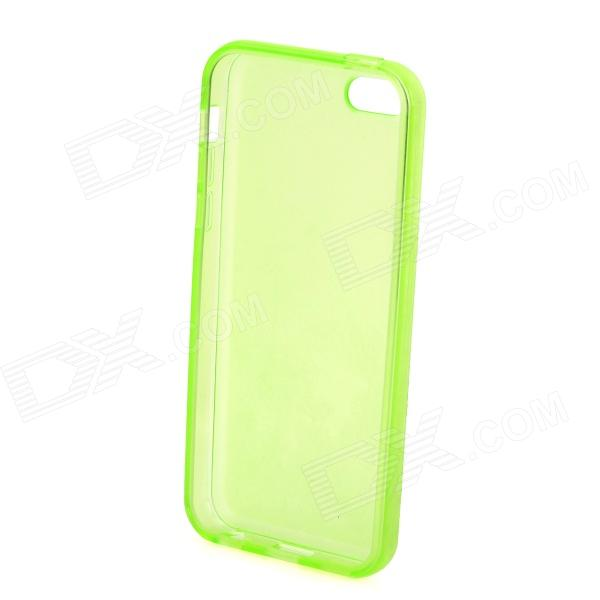 Stylish Matte Frosted Protective Back Case for Iphone 5C - Yellowish Green