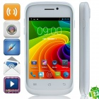 "S1 MTK6572 Dual-core Android 2.3.6 WCDMA Bar Phone w/ 3.5"", Wi-Fi, FM and GPS - White"