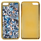 Stylish Patterned Plastic Back Case for Iphone 5C - Multicolored