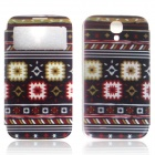 ENKAY PU Leather Case w/ Call Display / Auto-Sleep for Samsung Galaxy S4 i9500 - Multicolor