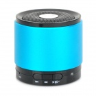 NB043 Bluetooth V3.0+ EDR Dual Stereo Speaker w/ Noise-deduction Microphone - Blue + Black