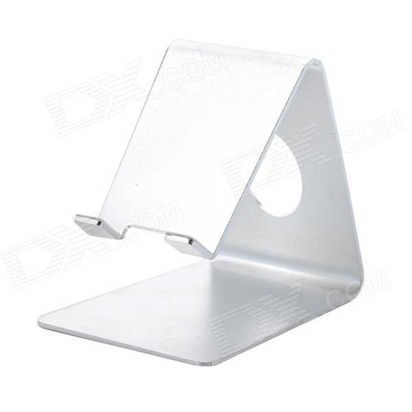 Desktop Style Aluminium Alloy Stand for Ipad - Silver aluminium alloy headset stand holder