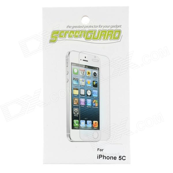 Protective PE Screen Film Guard for Iphone 5C - Translucent White