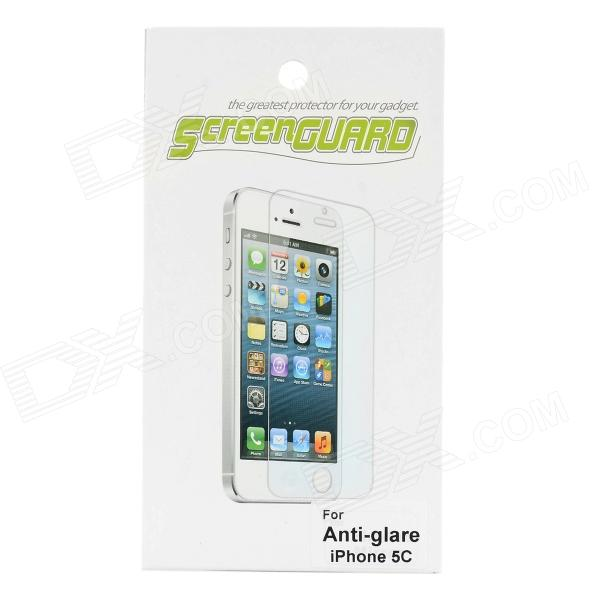 Protective Matte Screen Guard for Iphone 5C - Transparent