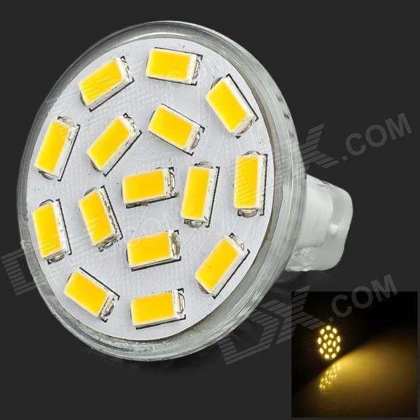 SENCART MR11 GU4 4.5W 320lm 15-SMD LED Warm White Spotlight - SilverOther Connector Bulbs<br>ModelMR11MaterialPVCForm  ColorWhiteQuantity1Power5WConnector TypeG4,MR11Color BINWhiteEmitter TypeLEDTotal Emitters15WavelengthNPacking List1 x Spotlight<br>