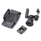 "Universal 360"" Rotation Car Air Vent Holder for Cellphone, GPS - Black"