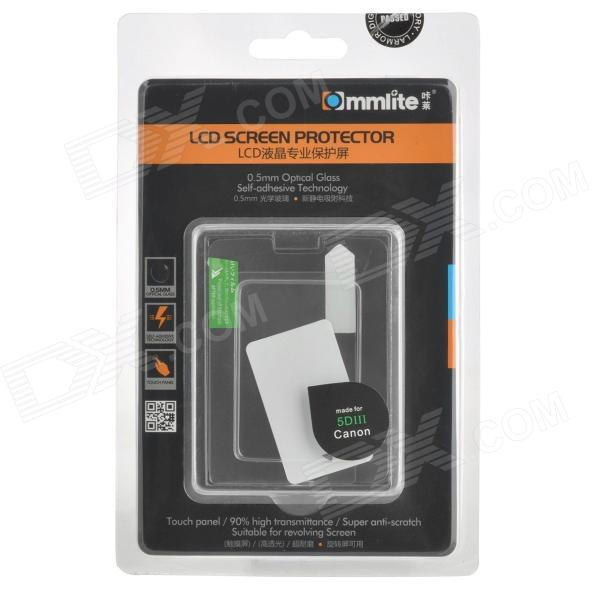 Commlite CM-LSP Mirror LCD Screen Protector for Canon 5D Mark III - Transparent