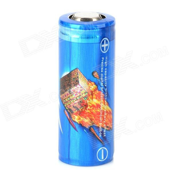 LusteFire 3.7V 3500mAh Rechargeable Li-ion 26650 Battery