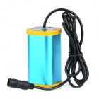 UltraFire 8.4V 4400mAh Rechargeable Li-ion 4-18650 Battery Pack - Blue + Yellow