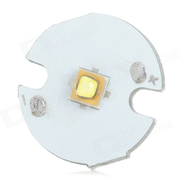 LG 3535-5 16mm 5W 250lm 8500K LED White Emitter Board for Flashlight - Silver + White