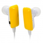 ROMAN S301 Bluetooth v2.1+EDR A2DP Earphone Headset w/ Microphone - Yellow + White