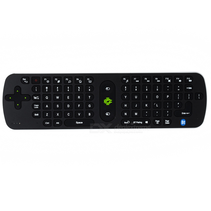 Measy RC16 2.4GHz Bluetooth HTPC Keyboard Air Mouse - Black + White ... 3de3e629d1fb4