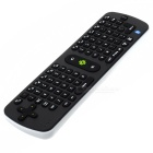 Measy RC16 2.4GHz Bluetooth HTPC Keyboard Air Mouse - Black + White (3 x AAA)