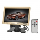 "Multifunction 7"" TFT LCD Car Monitor  w/ 2-CH AV Input - Beige"