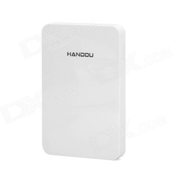 HANDOU H2 Thin 2.5 Portable USB 3.0 SATA Serial Port Disk Enclosure - White kingfast ssd 128gb sata iii 6gb s 2 5 inch solid state drive 7mm internal ssd 128 cache hard disk for laptop disktop