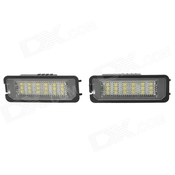3W 108lm 7500K 18-3528 SMD LED License Plate Lamp for Volkswagen Golf (12V) andis ionica машинка для стрижки волос