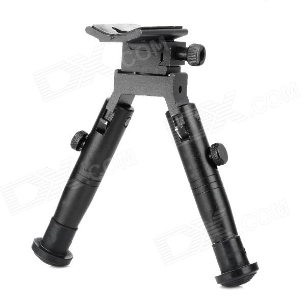 HB-02 Iron + Pig Iron Bipod For Real / Toy Gun - Black