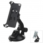 360 Degree Rotation Holder Mount Bracket w/ H80 Suction Cup for Iphone 4 / 4S - Black