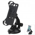 360 Degree Rotation Holder Mount Bracket w/ H80 Suction Cup for Samsung N9300 - Black