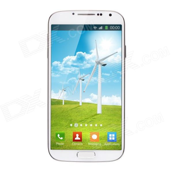 NO.1 S6 MTK6589 Quad Core 1.2GHz Android 4.2 Smartphone w/ 5, 1GB RAM, 4GB ROM, Dual Camera - White philips d1301b 51 радиотелефон
