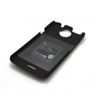 ZY-403 WPC_Qi Standard Wireless Charger Receiver Back Case for HTC One X - Black