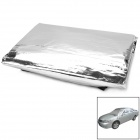 Sun Shade Water Resistant Dust-Proof Anti-Scratching Aluminum Coating Car Cover - Silver
