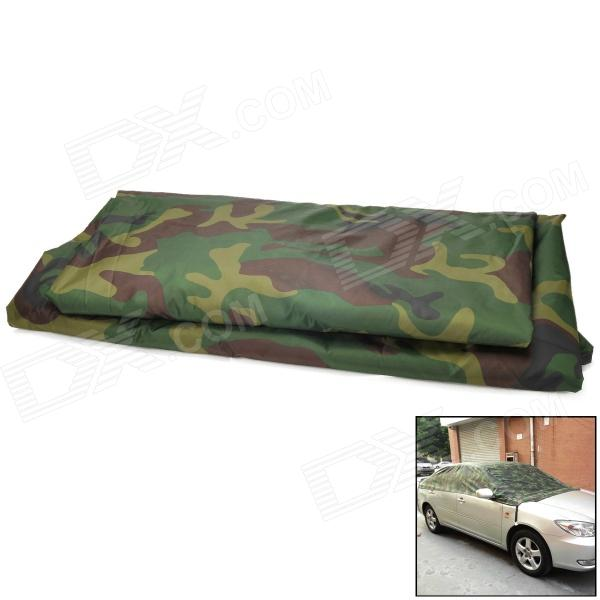 Sun Shade Water Resistant Dust-Proof Anti-Scratching Flocking Fabric Car Cover - Camouflage sun fabric 100 pantelleria