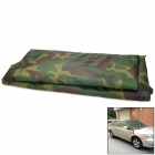 Sun Shade Water Resistant Dust-Proof Anti-Scratching Flocking Fabric Car Cover - Camouflage