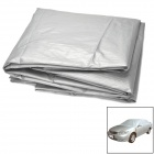 Sun Shade Water Resistant Dust-Proof Anti-Scratching PEVA Car Cover - Silver